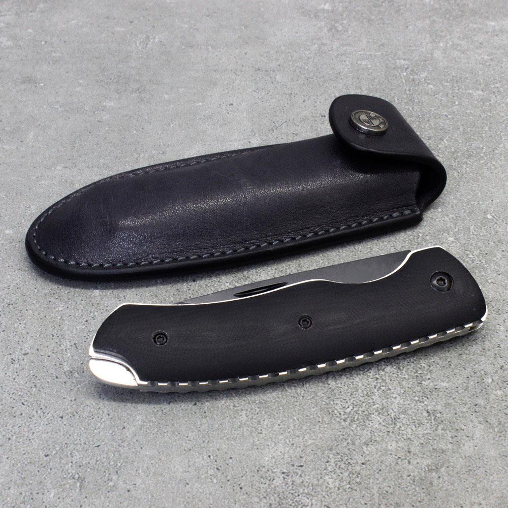 Messer mit Lederhülle
